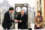 Apresentação da moeda no Museu de Arte Contemporânea de Elvas