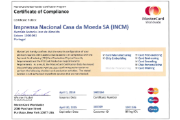 Mastercard certificate of compliance