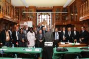 Participantes no IX Encontro de Imprensas Oficiais de Língua Portuguesa