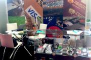 Pormenor do stand da INCM no SmartCards 2014