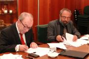 Assinatura de acordo, INCM e Timor-Leste