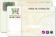 New driving licence for the Democratic Republic of São Tomé and Príncipe