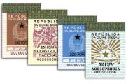 Novos selos fiscais incorporam diversos elementos de segurança