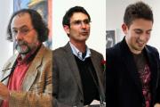 Escultores João Duarte, José Teixeira e Hugo Maciel