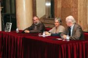 Carlos Vargas, Maria João Brilhante and Rui Carp at the book presentation