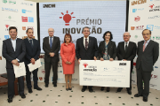The prizes were delivered by the Minister for the Office of the President and Administrative Modernisation, Maria Manuel Leitão Marques