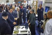 Pedro Siza Vieira, Ministro Adjunto e da Economia, visitou stand da INCM, acompanhado pelo Presidente do Município de Gondomar, Marco Martins