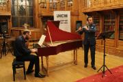 Os solistas Marcos Magalhães (cravo) e Nuno Inácio (flauta) vão interpretar peças de Telemann e de Carlos Seixas