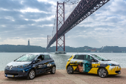 "New electric vehicles were ""personalized"" with the IN3+ Award and with the motto ""Tradition of innovating"""