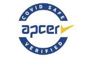 A marca COVID SAFE é atribuída a organizações que cumpram as orientações das autoridades sanitárias e de trabalho