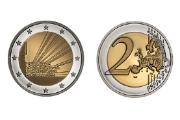 Face nacional da moeda é assinada pelo designer Eduardo Aires