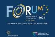 17.ª edição do Fórum Europeu de Jornais Oficiais