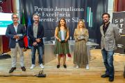 A 1.ª edição do Prémio teve uma vencedora e duas menções honrosas