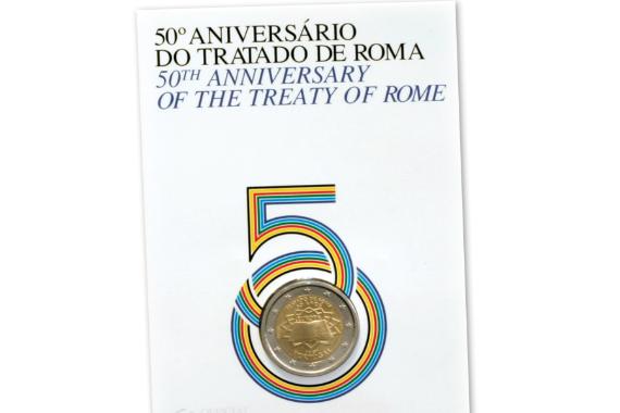 Foto 4 do produto 50º Aniversário do Tratado de Roma (BNC)