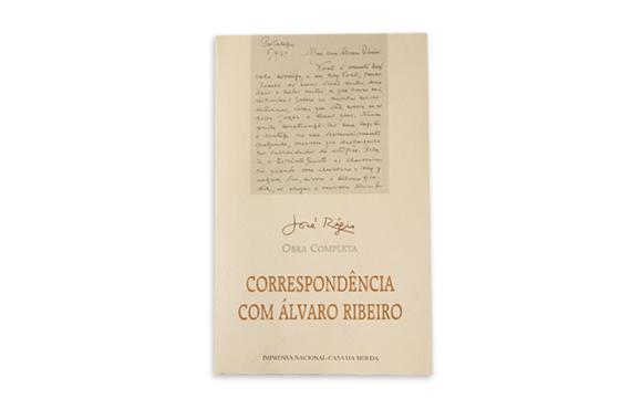 Foto 1 do produto Correspondência com Álvaro Ribeiro