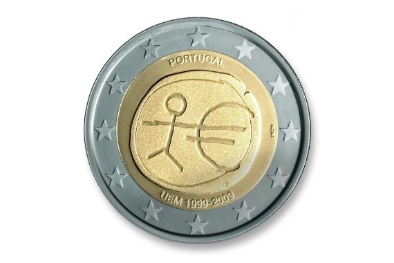 Foto 2 do produto 10º Aniversário da União Económica e Monetária (UEM) e da Criação do Euro (Proof)