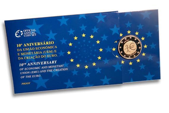 Foto 4 do produto 10º Aniversário da União Económica e Monetária (UEM) e da Criação do Euro (Proof)