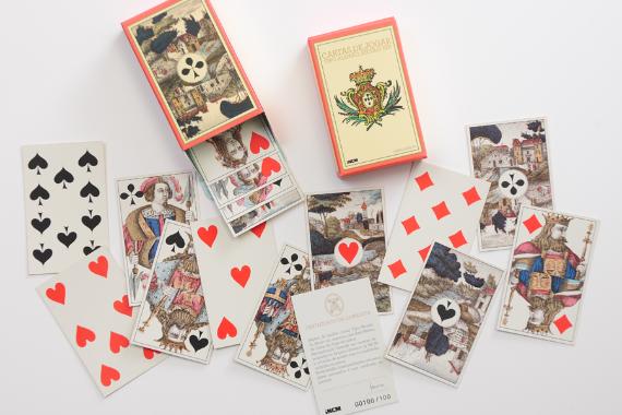 Foto 1 do produto Cartas de Jogar Tipo Alemão (Século XIX)
