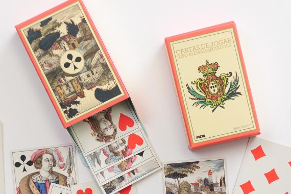Foto 2 do produto Cartas de Jogar Tipo Alemão (Século XIX)