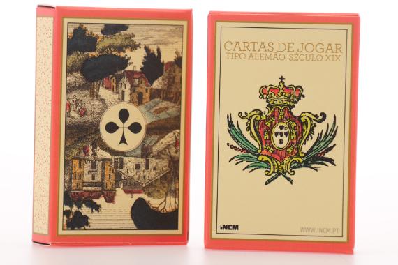 Foto 3 do produto Cartas de Jogar Tipo Alemão (Século XIX)