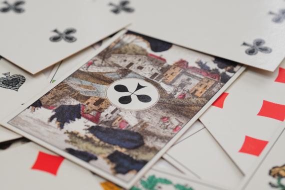 Foto 4 do produto Cartas de Jogar Tipo Alemão (Século XIX)