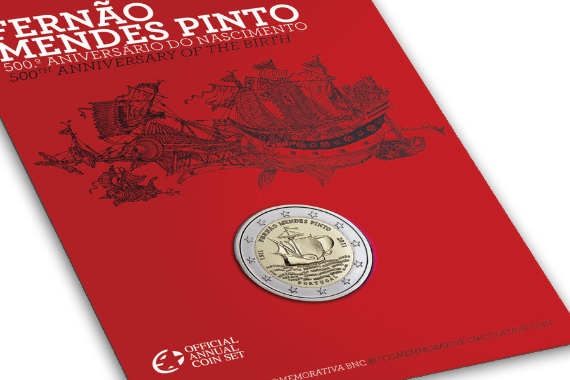 Foto 4 do produto Fernão Mendes Pinto - 500.º Aniversário do Nascimento (BNC)