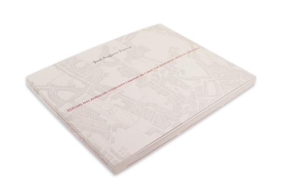 Foto 2 do produto Estudos das zonas ou unidades urbanas de carácter histórico-artístico em Lisboa
