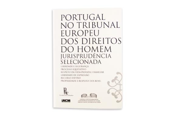 Photo 1 of product Portugal no Tribunal Europeu dos Direitos do Homem