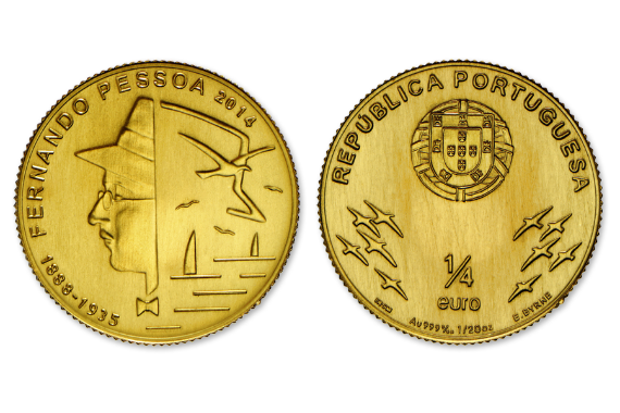 Foto 1 do produto Fernando Pessoa (Ouro FDC)