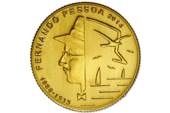 Foto 2 do produto Fernando Pessoa (Ouro FDC)