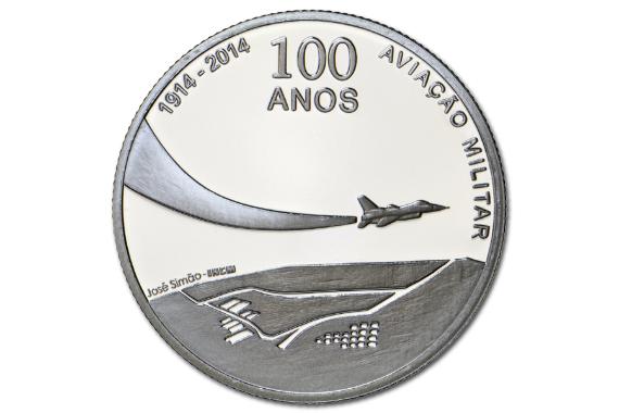 Foto 3 do produto 100 Anos da Aviação Militar (Prata Proof)