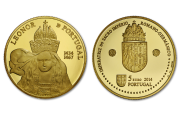 D. Leonor of Portugal (Gold Proof)