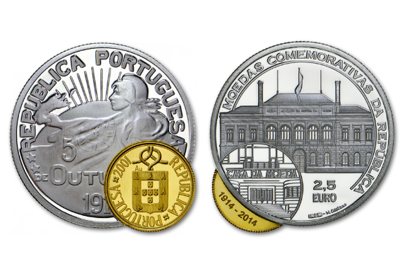 Photo 1 of product 100th Anniversary of Republic Commemorative Coins (Gold/Silver Proof)