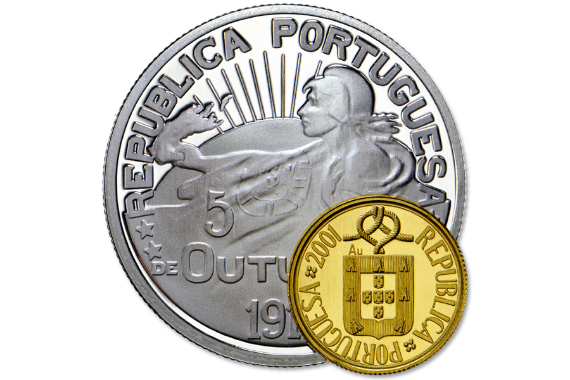 Photo 2 of product 100th Anniversary of Republic Commemorative Coins (Gold/Silver Proof)