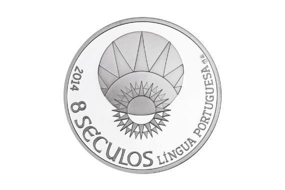 Foto 3 do produto Medalha 8 Séculos da Língua Portuguesa