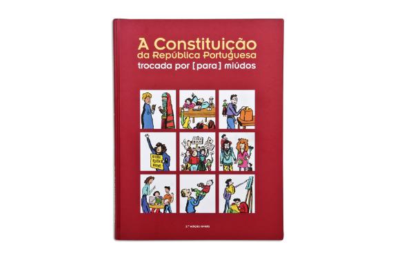 Foto 1 do produto Constituição da República Portuguesa trocada por (para) miúdos (A)