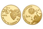 70 Anos de Paz Europa (Ouro Proof)