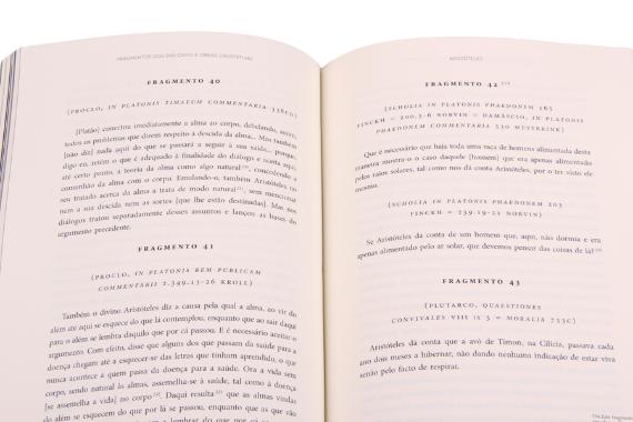 Foto 3 do produto Obras Completas de Aristóteles - Fragmentos dos Diálogos e Obras Exortativas