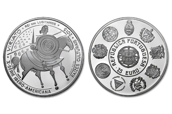Photo 1 of product Cultural Roots - Viriato (Silver Proof)