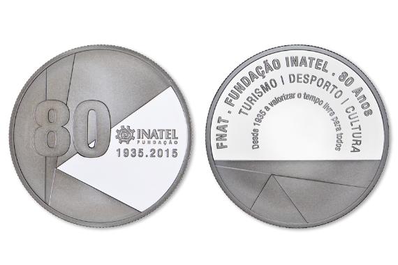 Foto 1 do produto Medalha Comemorativa dos 80 Anos da INATEL