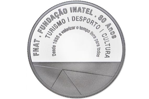 Foto 3 do produto Medalha Comemorativa dos 80 Anos da INATEL