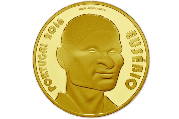 Foto 2 do produto Eusébio (Ouro Proof)