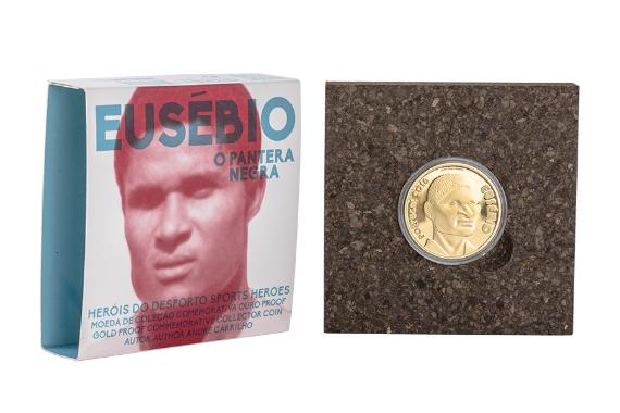 Foto 4 do produto Eusébio (Ouro Proof)