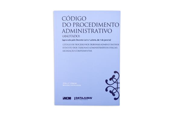 Photo 1 of product Código do Procedimento Administrativo (Anotado) 3ª edição