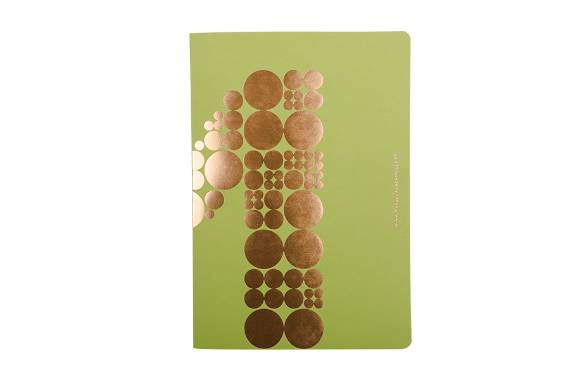 Foto 1 do produto Caderno Verde