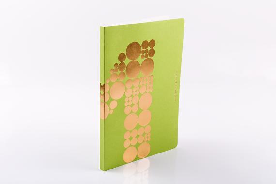 Foto 2 do produto Caderno Verde