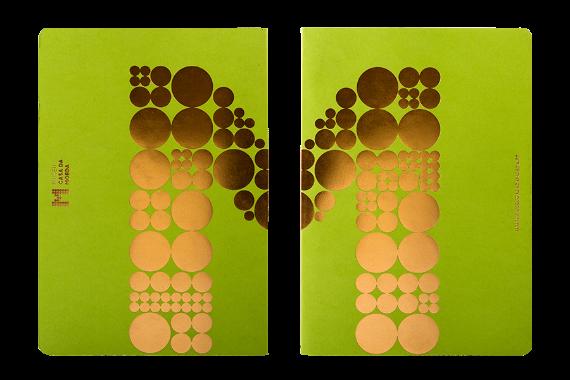 Foto 4 do produto Caderno Verde