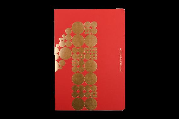 Foto 1 do produto Caderno Vermelho