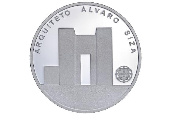 Foto 2 do produto Arquiteto Álvaro Siza (Prata Proof)