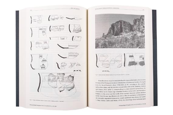 Foto 4 do produto O Arqueólogo Português (Série V - Vol. IV e V - 2014-2015)